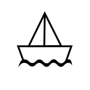 Óvodai Jelek - Hajó